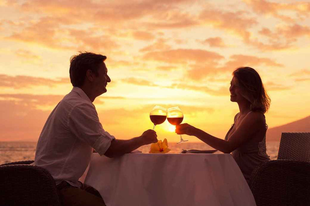 Eat Dinner Together Couple Engagement Proposal Good Habits Before Getting Married Wedding Tips Advice Blog