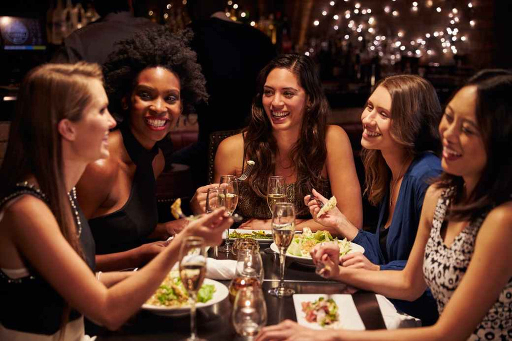 Girls Night Out Affordable Bachelorette Party How to Advice Tips Tricks Wedding Engagement Bride Bridesmaids