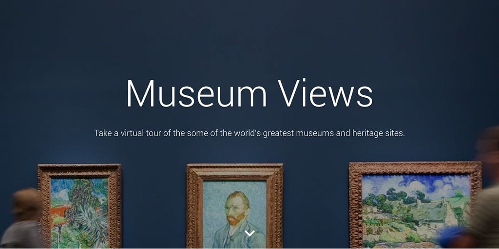 Google Museum Views Social Distancing Activities to Do at Home Virtual Museum Art Tour Quarantine Coronavirus 2020 Things to Do