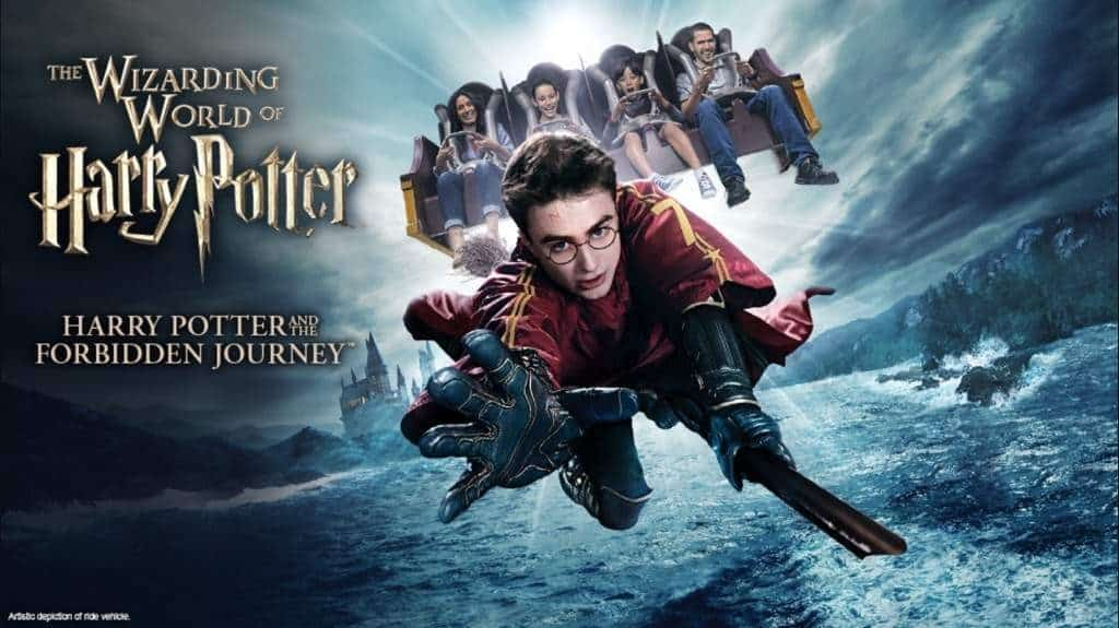Harry Potter ride poster