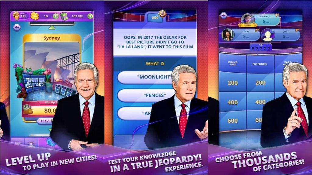 Jeopardy! World Tour Best Mobile Games 2020 List For Coronavirus Quarantine Social Distancing