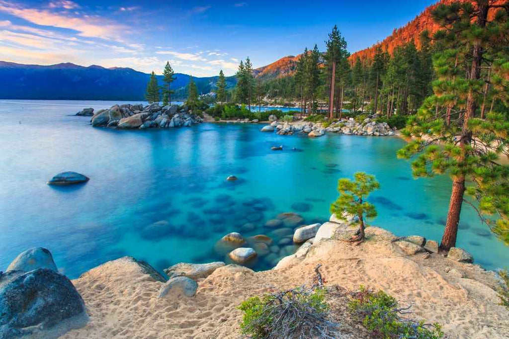 Lake Tahoe Where to Honeymoon Destinations Locations United States America Local Affordable Inexpensive
