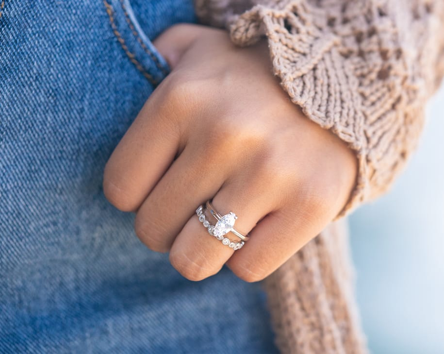 marquise solitaire engagement ring simple wedding band unique set inexpensive affordable conflict free