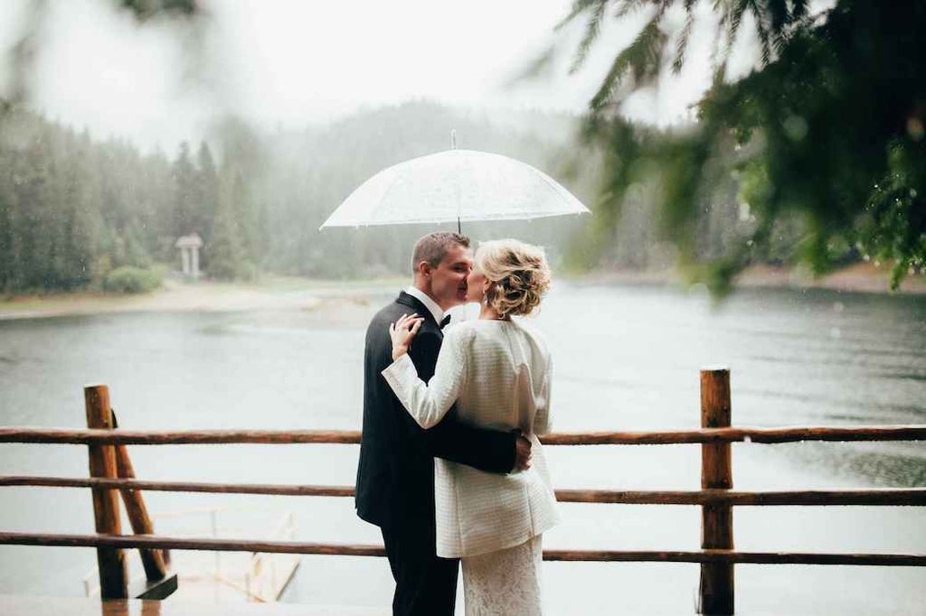 Plan for Rain Wedding Mistakes Not to Do Engagement Rings