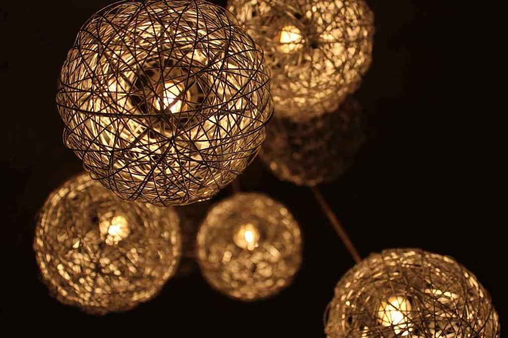 String Pendant Lights Lanterns Decorate DIY Activities Craft Creative Things to Do at Home Social Distancing Activities Quarantine Pandemic Coronavirus 2020 COVID-19 Projects Customize Bored Boredom Pass the Time