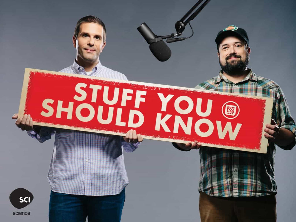 Josh and Chuck from Stuff You Should Know podcast