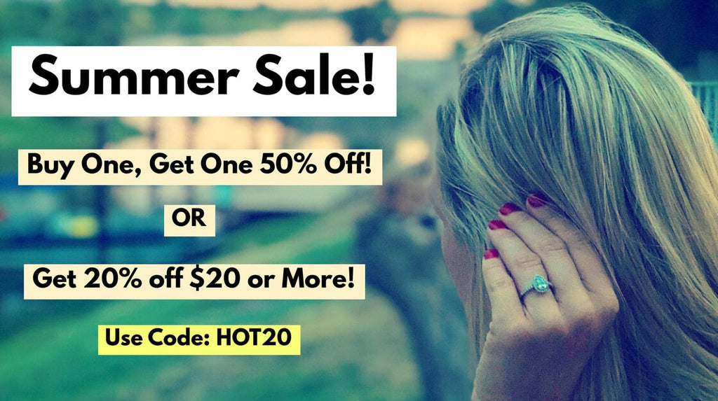 Summer Sale - Affordable Wedding and Engagement Rings for Men and Women