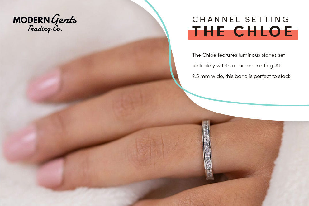 The Chloe engagement ring