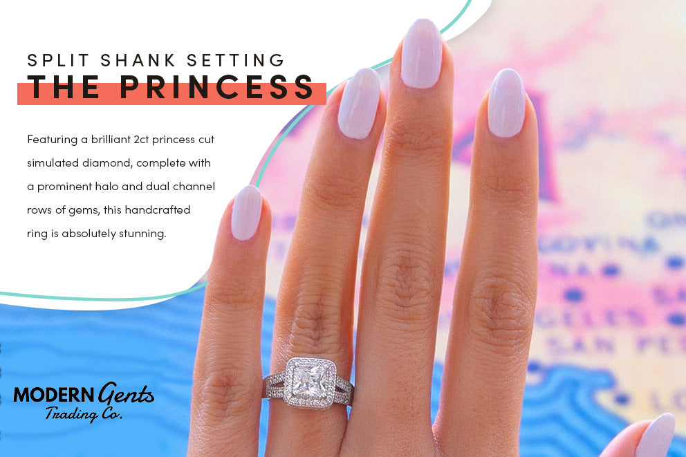 The Princess engagement ring