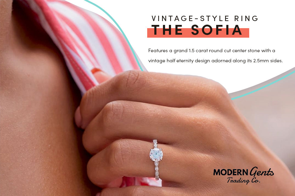 The Sofia engagement ring