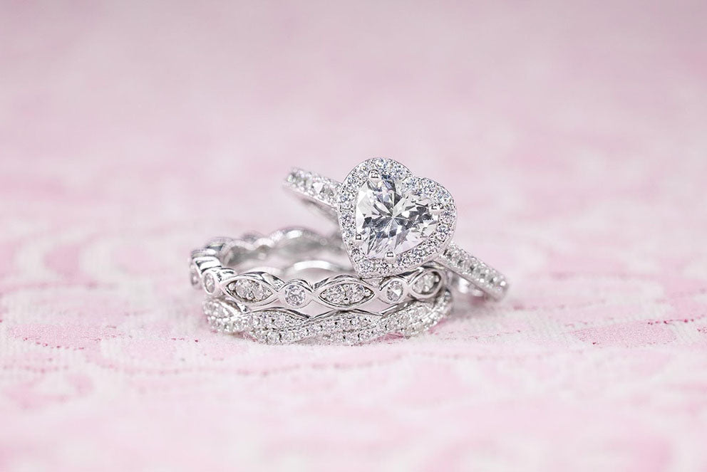 """""""The Sweetheart"""" engagement ring"""