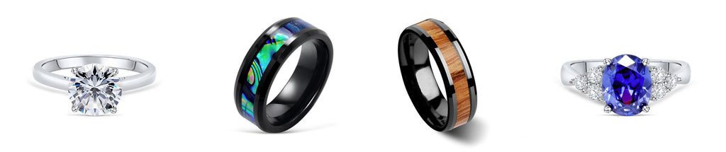 Men and women's rings