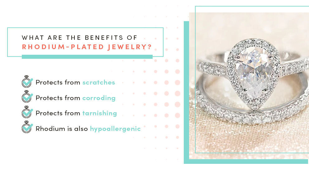 what are the benefits of rhodium plating