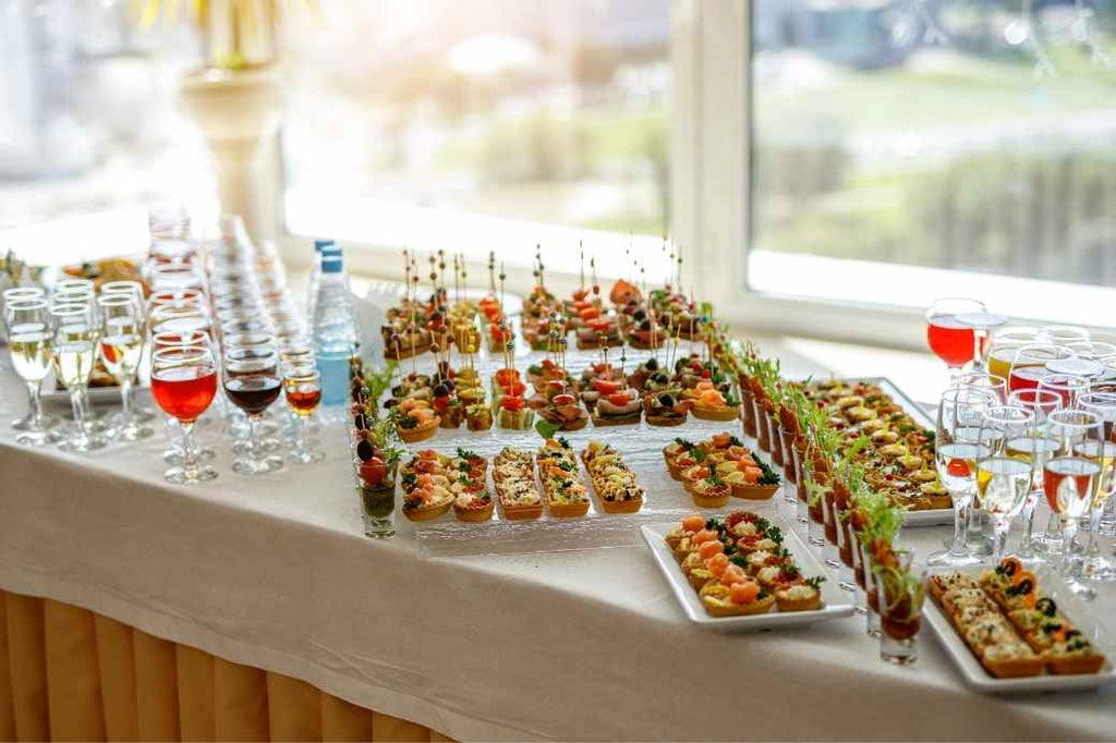 creative food wedding planning reception advice new bride how to tips tricks