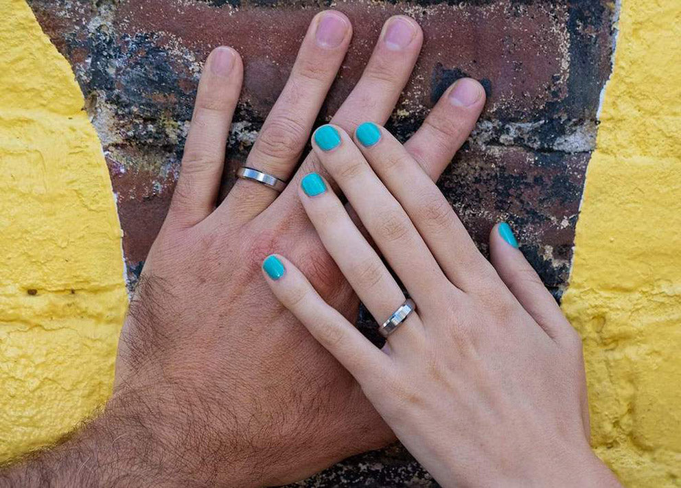 married couples hands