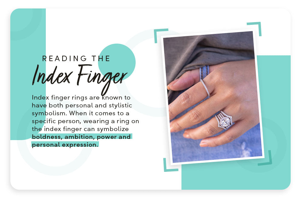 reading the index finger