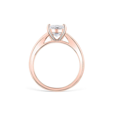 the layla rose gold ring