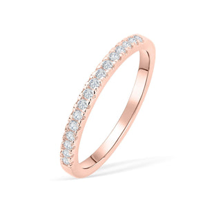 the desire rose gold wedding band