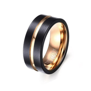the elite with black and gold tungsten