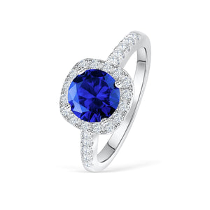 The Halo - Tanzanite