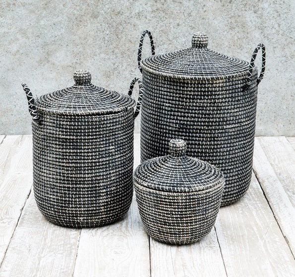 Black-seagrass-storage-basket