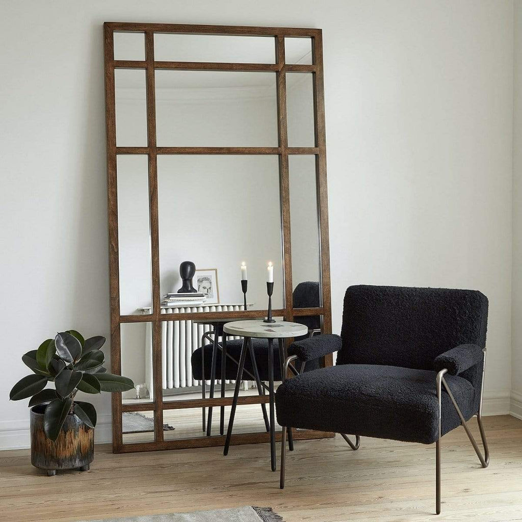 Hixton Birch Wood Large Statement Mirror