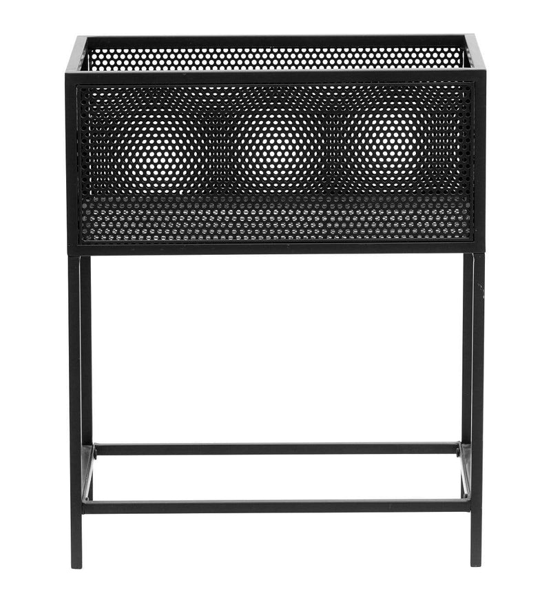 Hixton Black Iron Mesh Planter