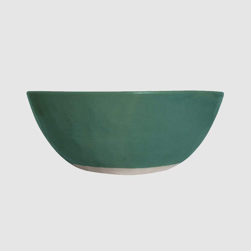 Hixton Forest Green Salad Bowl
