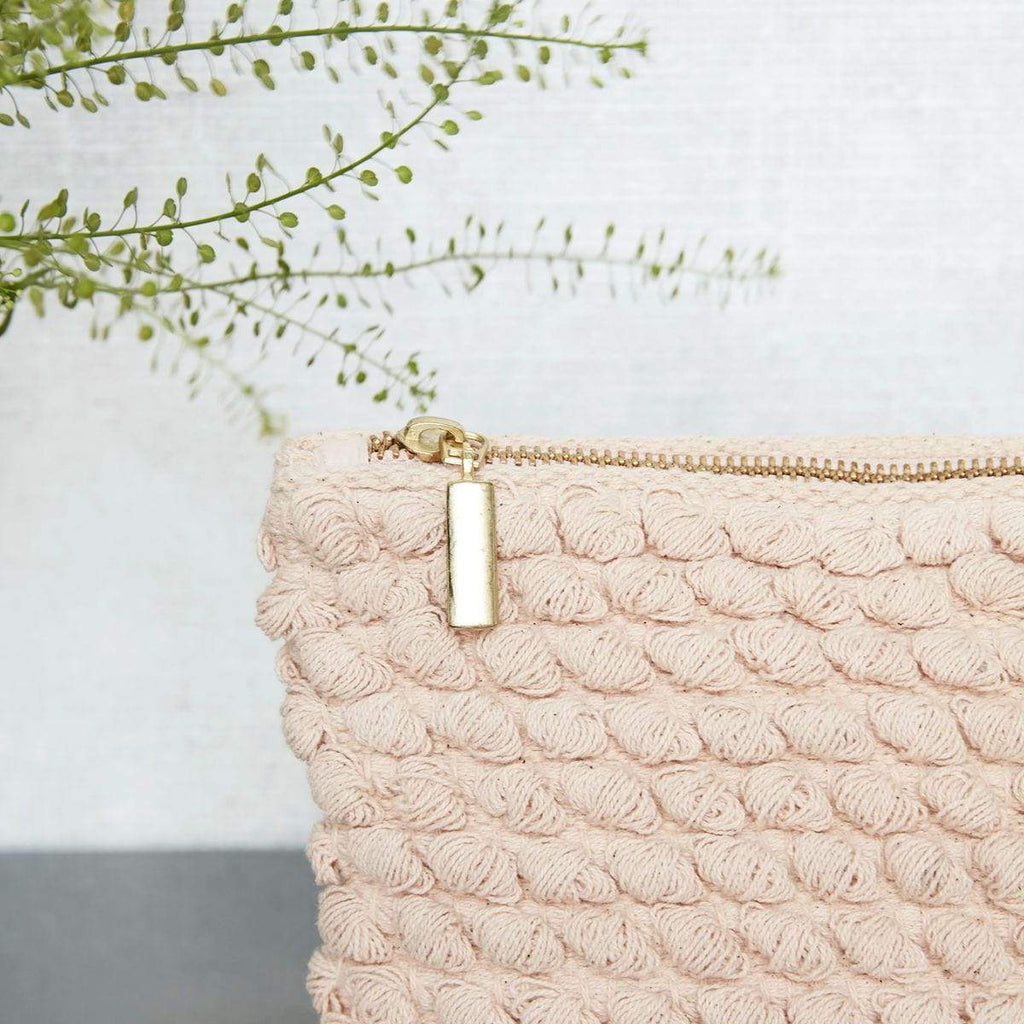 Hixton Gifts Tufted Bag - Rose Pink