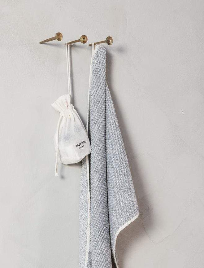 Hixton Grey Guest Towel - Set Of 2