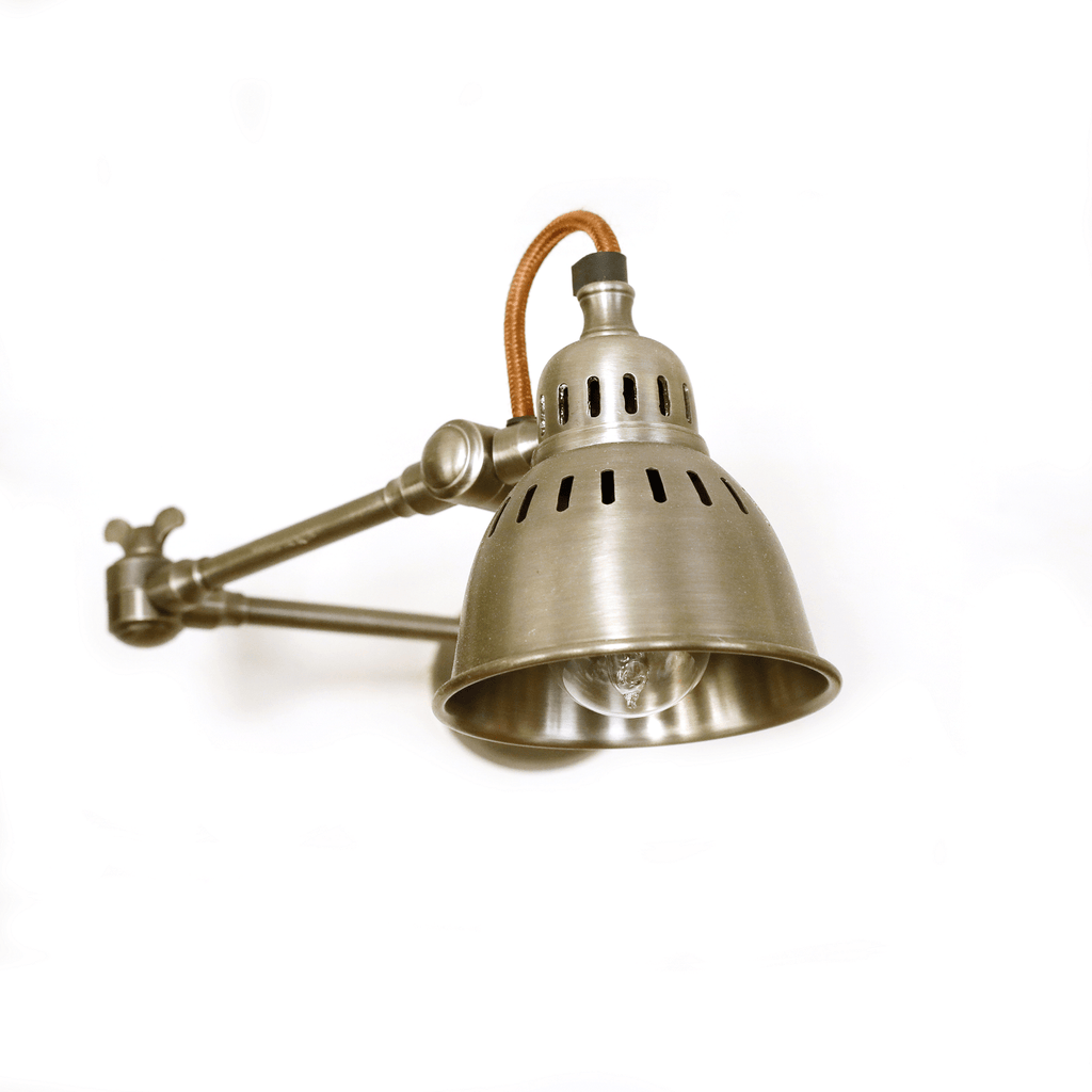 Hixton Gun Metal Grey Wall Light