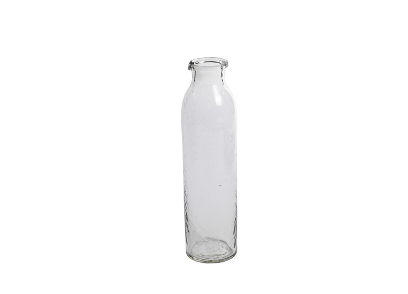 Hixton Hammered Glass Carafe