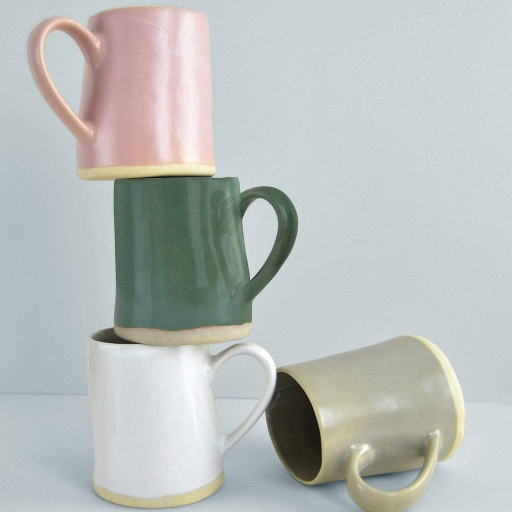 Hixton Handmade Ceramic Mug - Forest Green