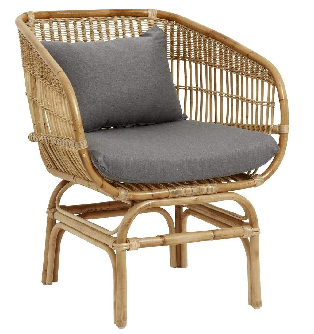 Hixton Handmade Wicker Chair