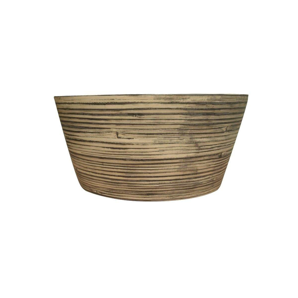 Hixton Kitchen Large Bamboo Bowl