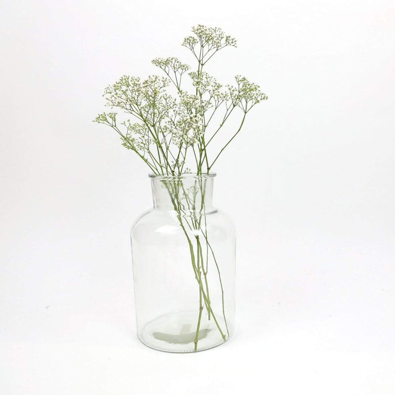 Hixton Large Glass Jar Vase
