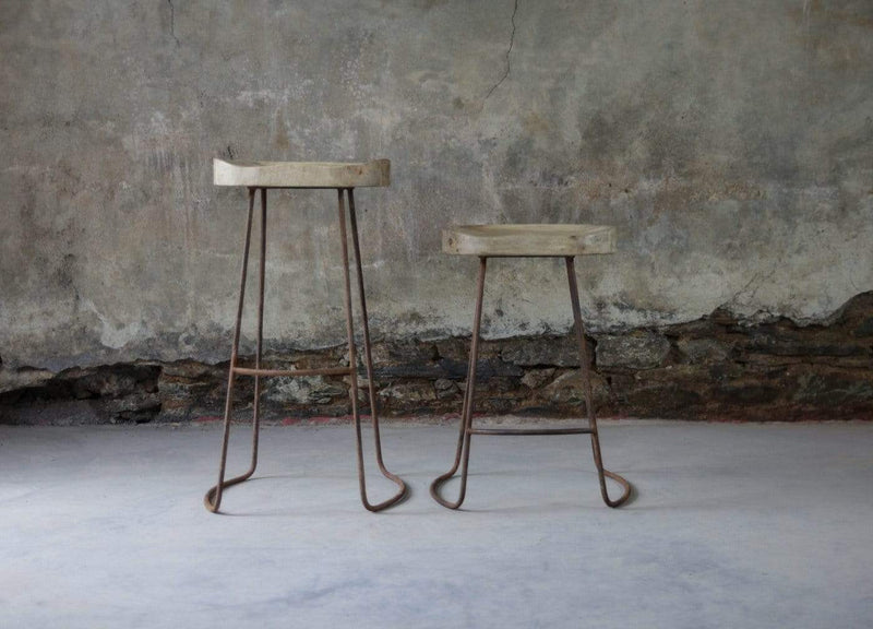 Hixton Mango Wood Bar stool