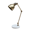 Hixton Marble and Brass Table Lamp