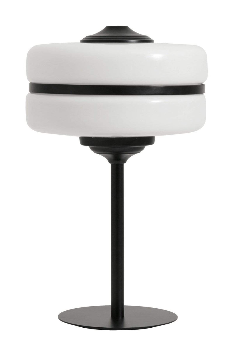 Hixton Monochrome Art Deco Table Lamp