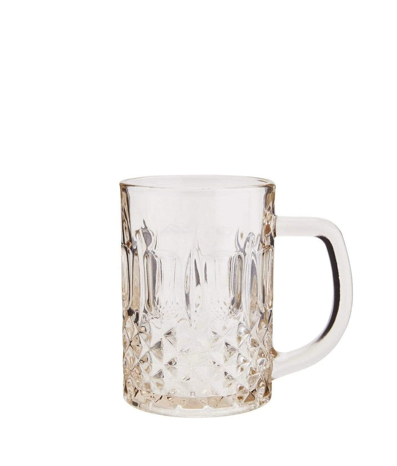 Hixton Retro Glass With Handle - Champagne