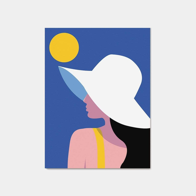 Hixton Summer Hat - Fine Art Print