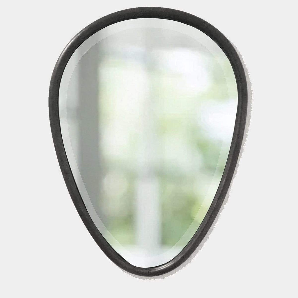 Hixton Teardrop Mirror- Gunmetal grey