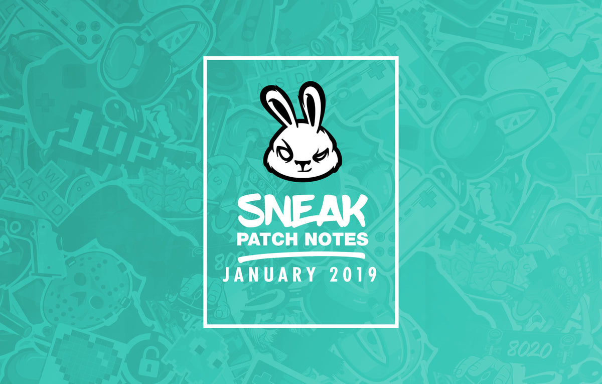 Patch Notes: JANUARY
