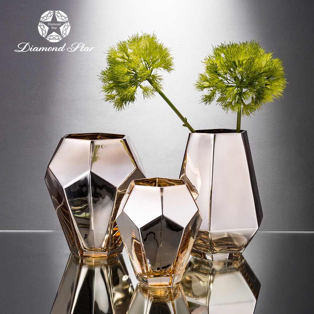 Glass Vase for home decoration, wedding and conterpieces