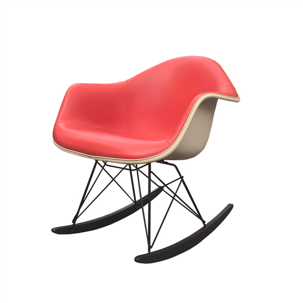 Eames rocking chair RAR // Red