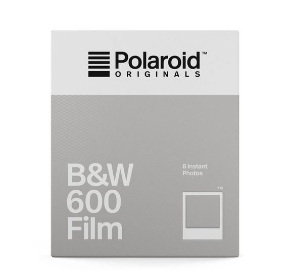 Polaroid B&W film 600
