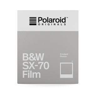 Polaroid B&W film SX-70