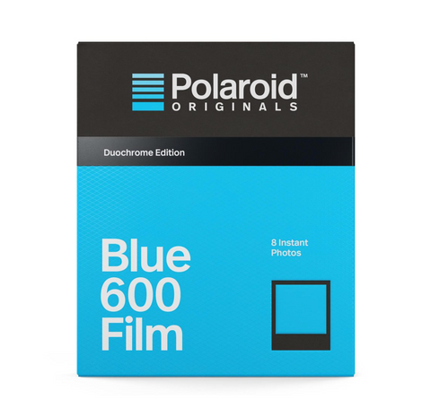 Polaroid duochrome film 600 // Blue