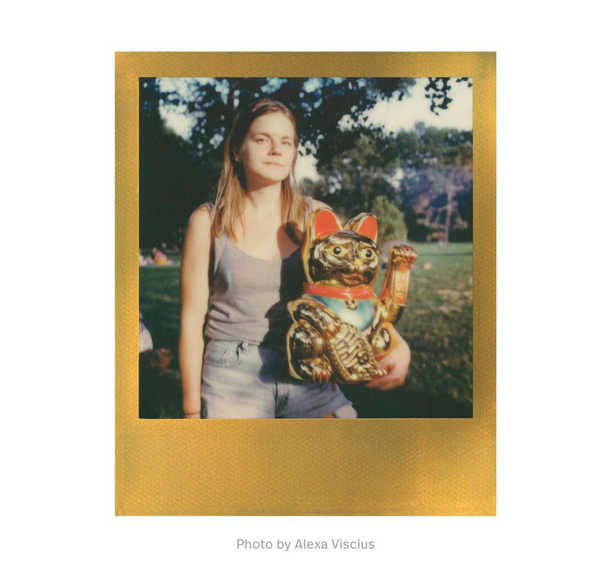 Polaroid Color film 600 // Gold Frame