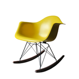 Eames rocking chair RAR by Herman Miller - Lemon Yellow